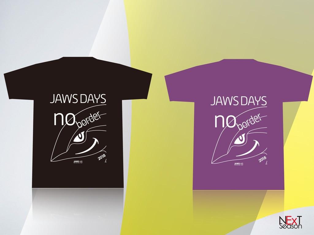 border JAWS DAYS no 2018 border JAWS DAYS no 20...
