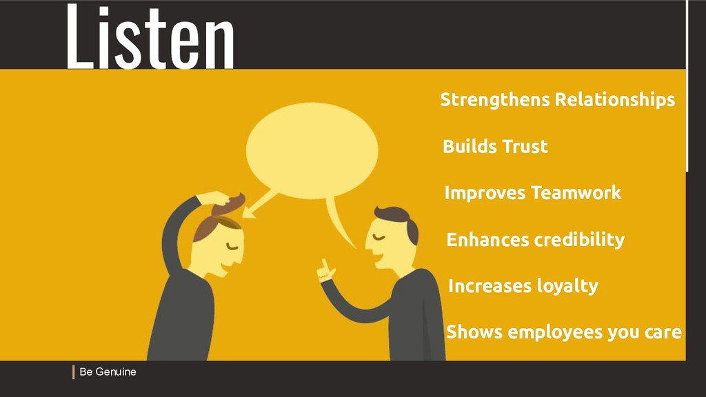 Listen Strengthens Relationships Builds Trust I...