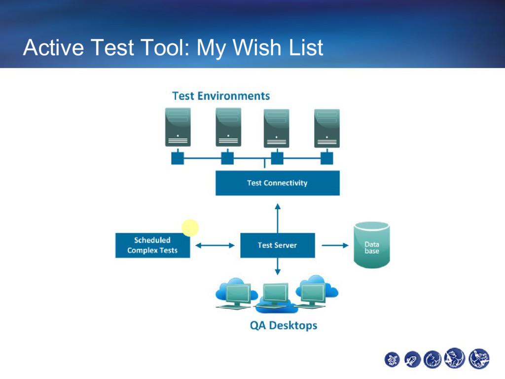 Active Test Tool: My Wish List