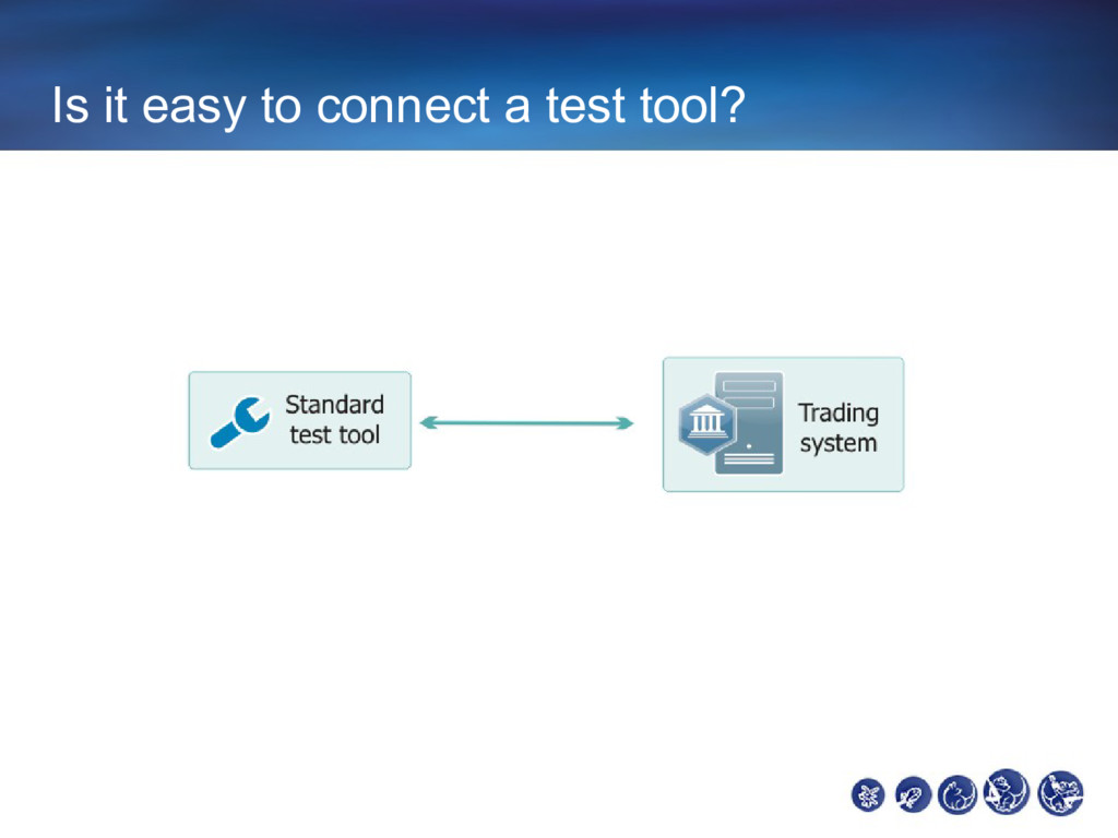 Is it easy to connect a test tool?