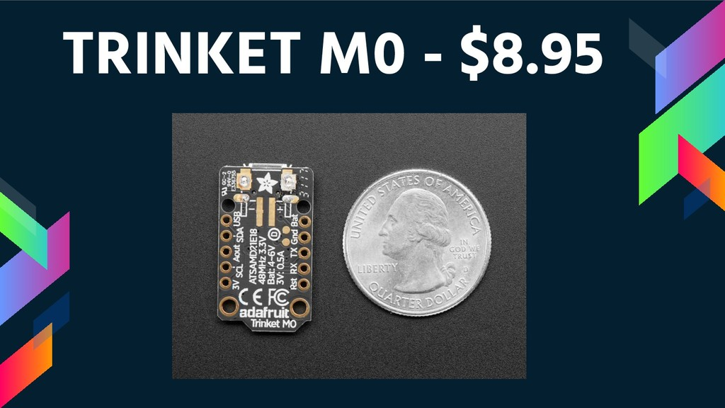 TRINKET M0 - $8.95