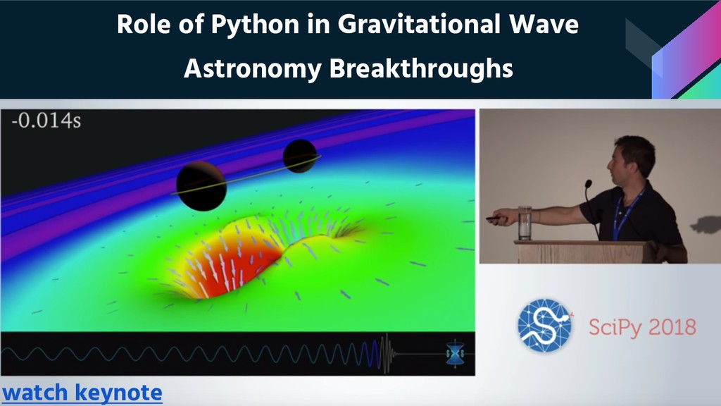 Role of Python in Gravitational Wave Astronomy ...