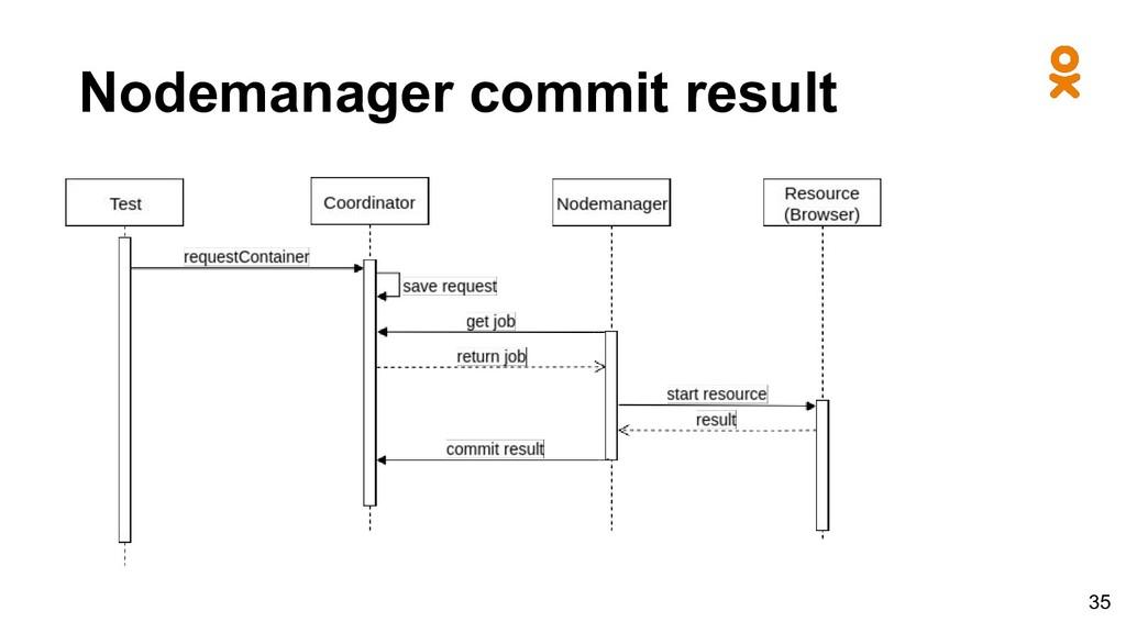 Nodemanager commit result 35