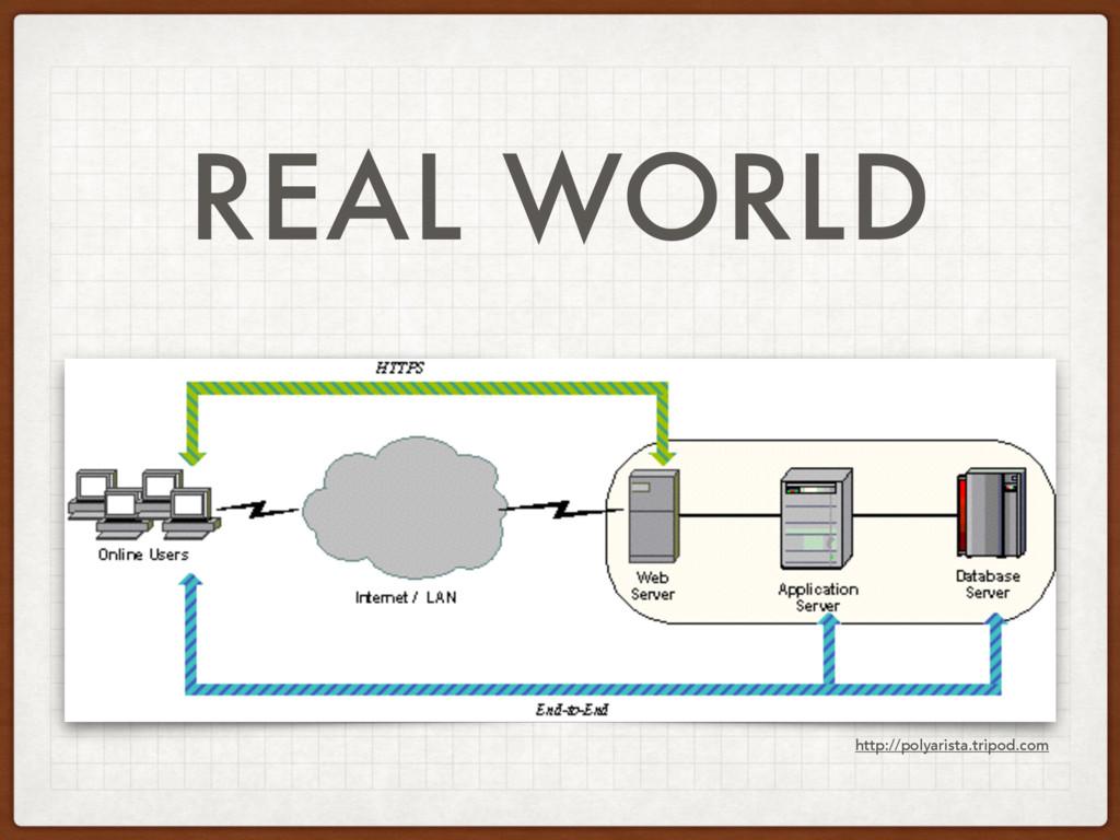 REAL WORLD http://polyarista.tripod.com