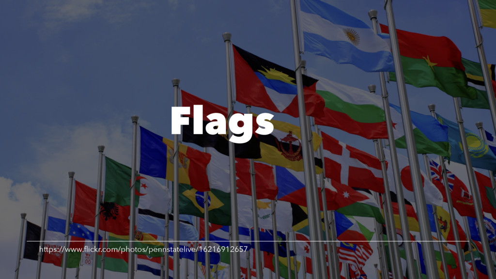 Flags https://www.flickr.com/photos/pennstateliv...