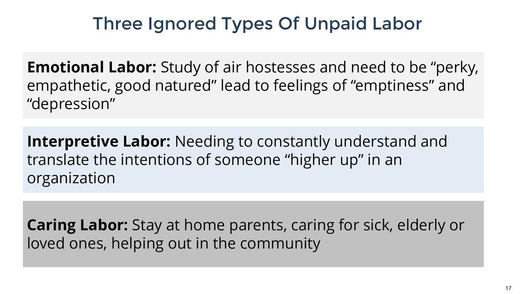 Three Ignored Types Of Unpaid Labor 17 Emotiona...