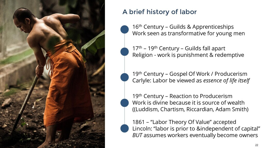 A brief history of labor 22 16th Century – Guil...