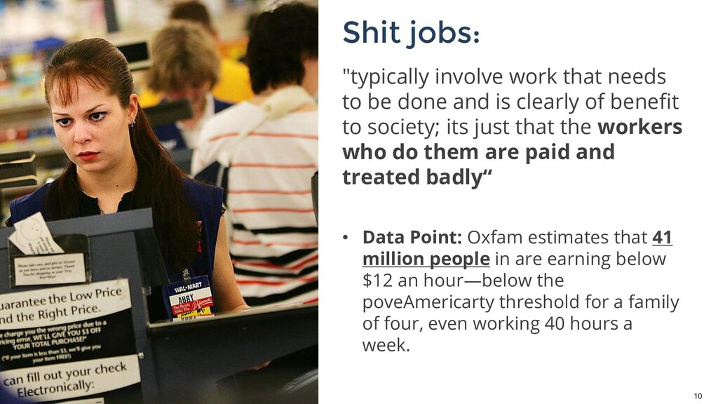 """10 """"typically involve work that needs to be don..."""