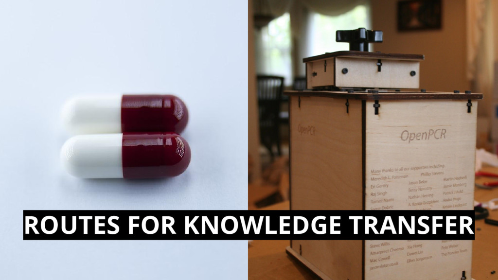 ROUTES FOR KNOWLEDGE TRANSFER