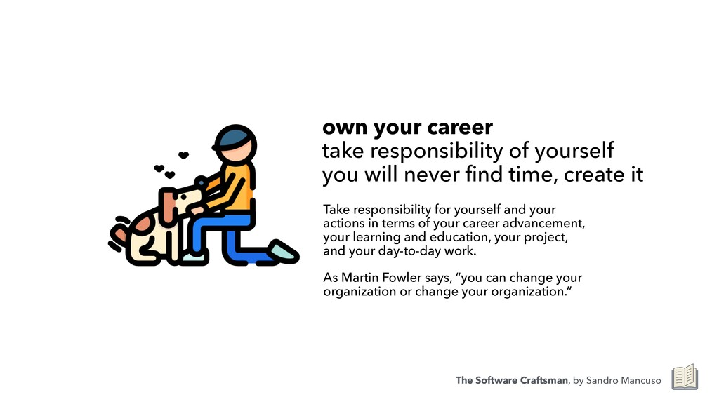 own your career  take responsibility of yourse...