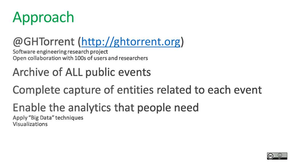 Approach http://ghtorrent.org