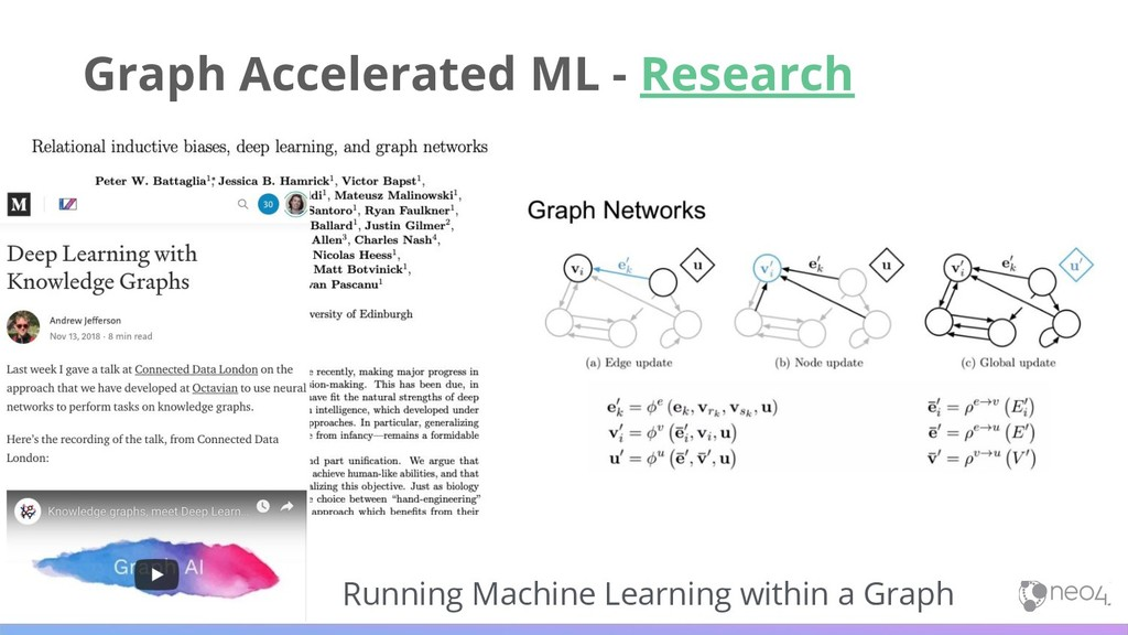 Running Machine Learning within a Graph Graph A...