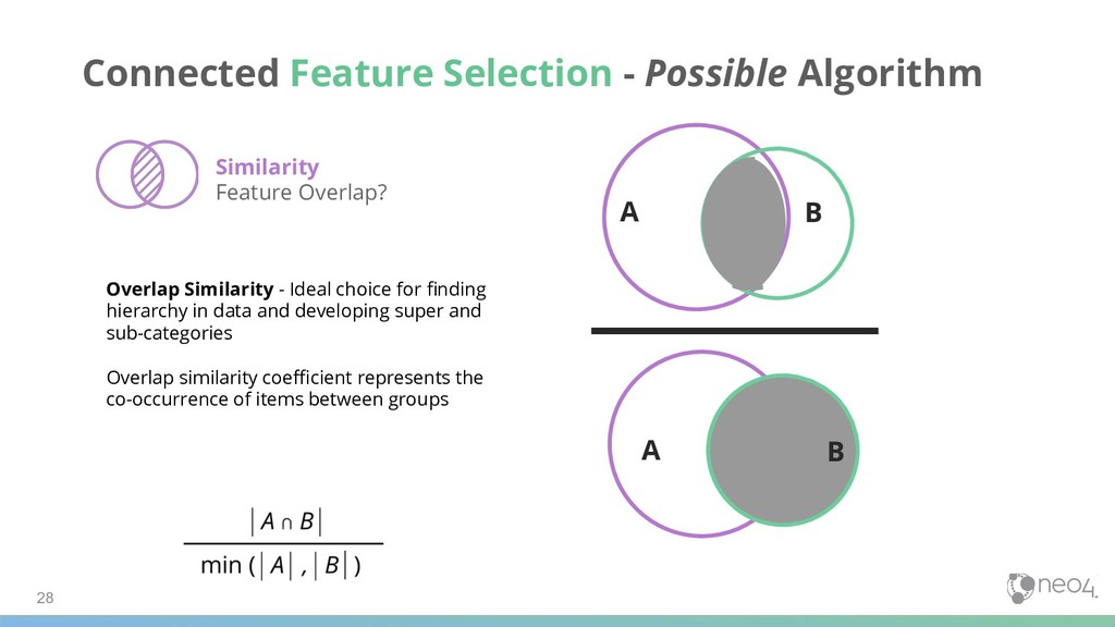 28 Connected Feature Selection - Possible Algor...