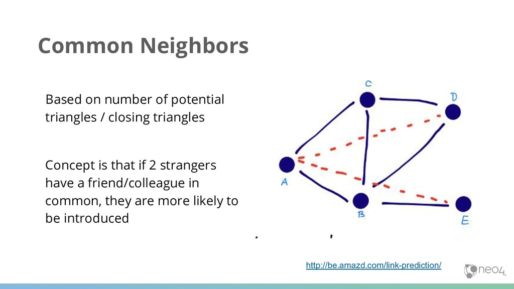 Common Neighbors Based on number of potential t...