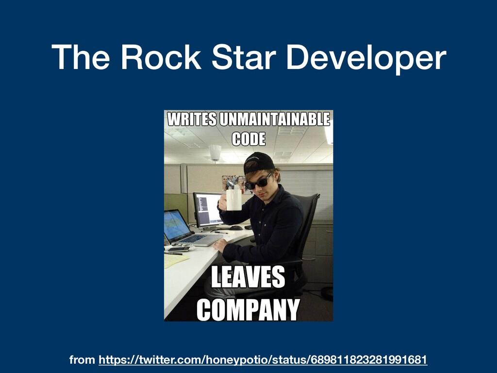 The Rock Star Developer from https://twitter.co...