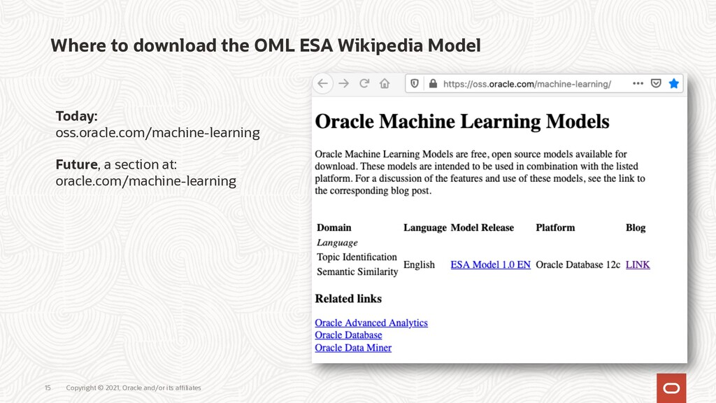 Copyright © 2021, Oracle and/or its affiliates ...