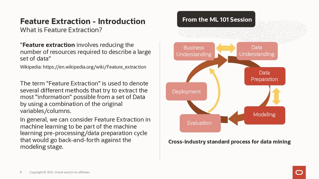 """What is Feature Extraction? """"Feature extraction..."""