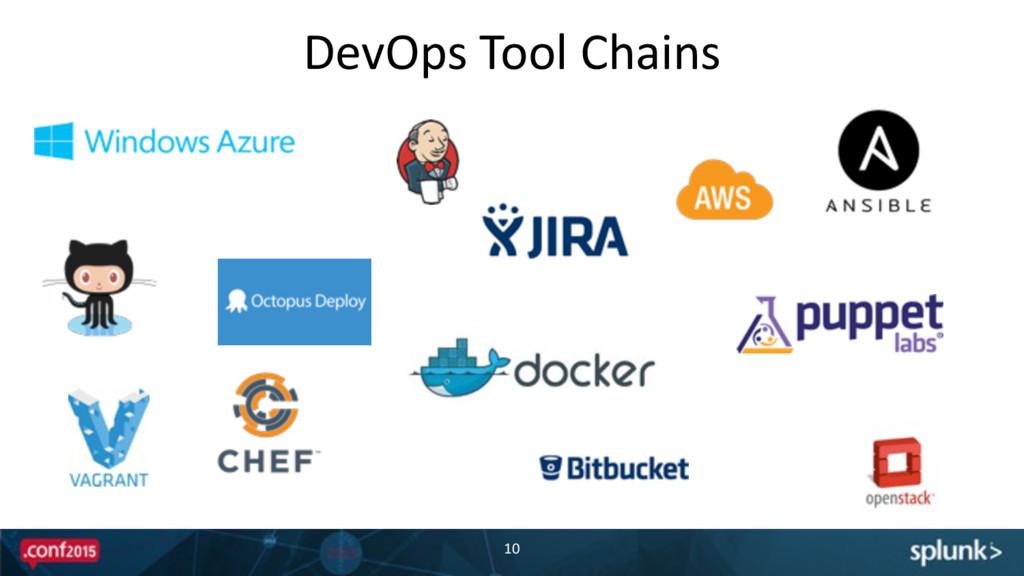 DevOps Tool Chains 10