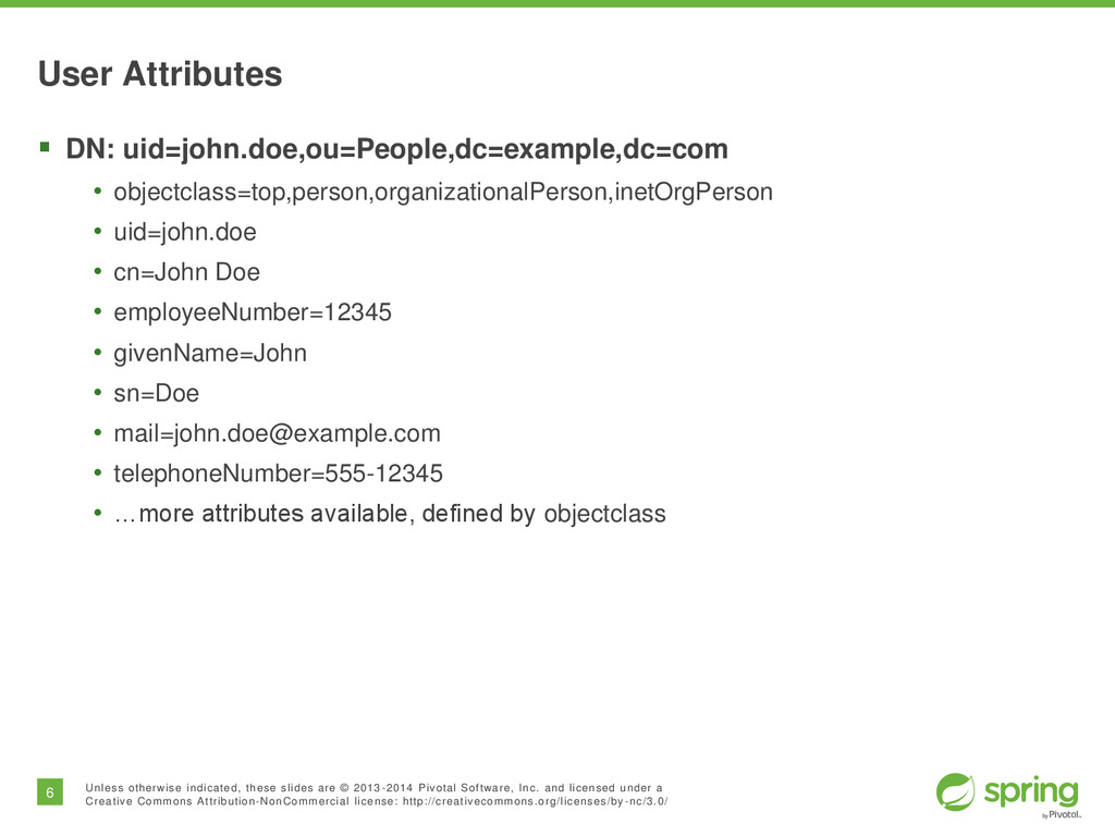 6 Unless otherwise indicated, these slides are ...