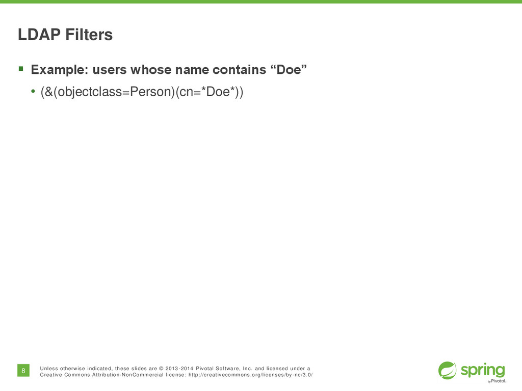 8 Unless otherwise indicated, these slides are ...