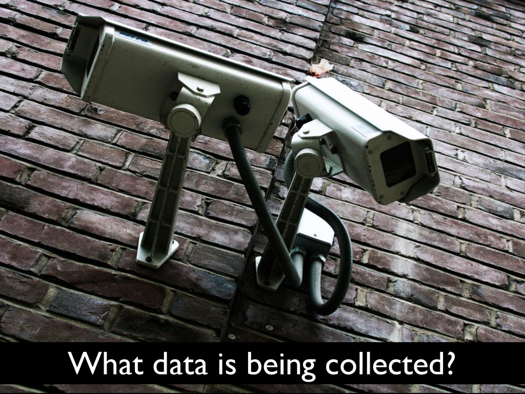 What data is being collected?