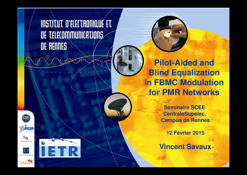 Pilot-Aided and Blind Equalization in FBMC Modu...