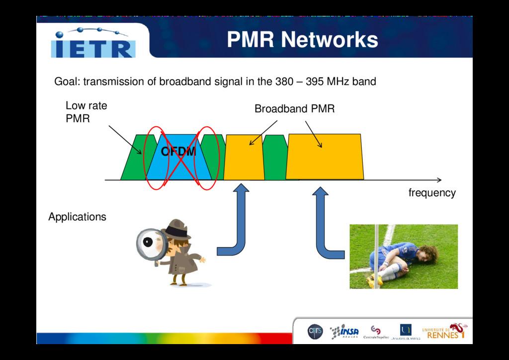 PMR Networks Goal: transmission of broadband si...
