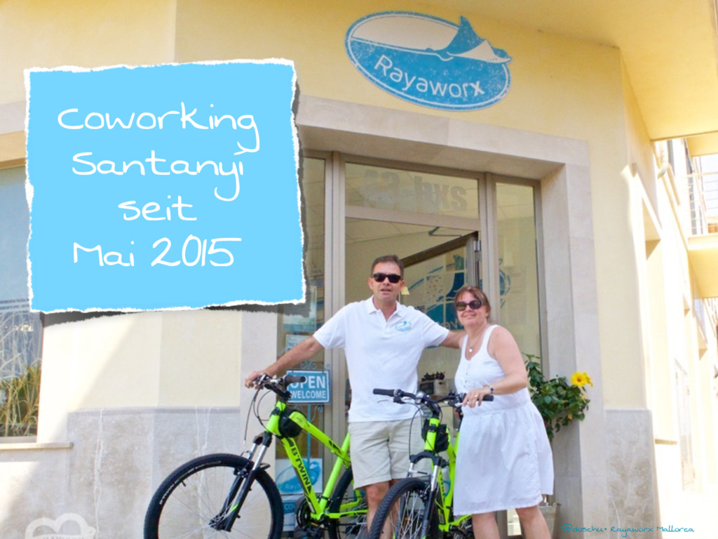 @doschu• Rayaworx Mallorca Coworking Santanyí s...