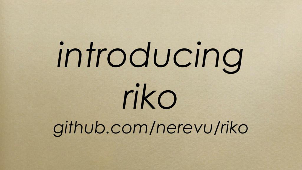 introducing riko github.com/nerevu/riko