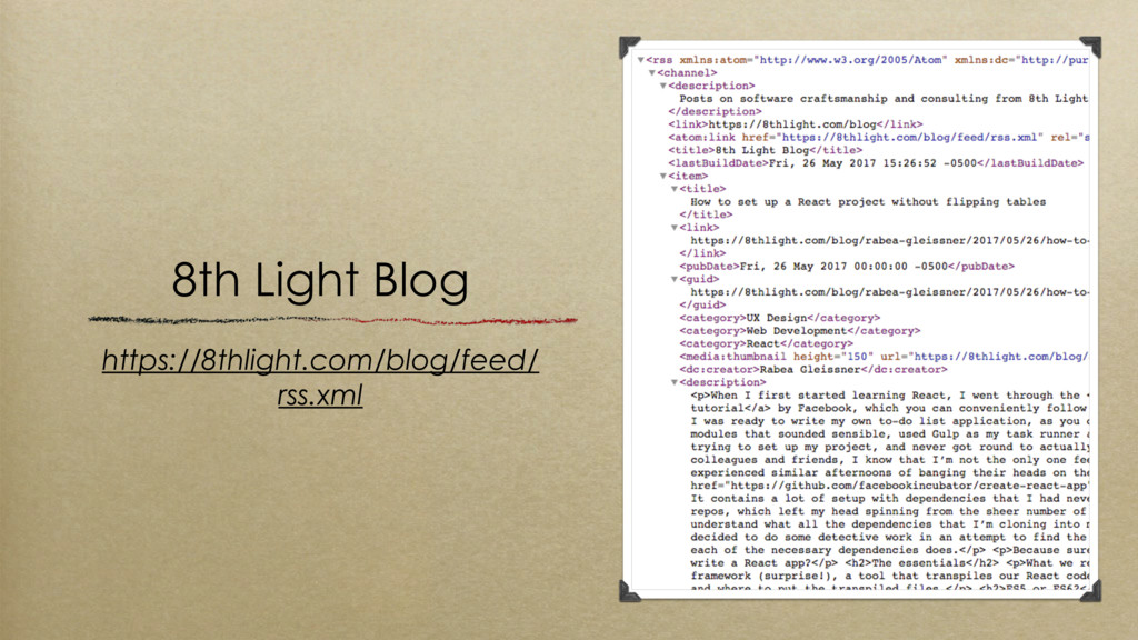 8th Light Blog https://8thlight.com/blog/feed/ ...