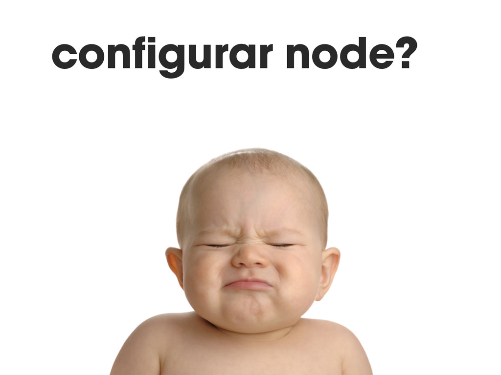 configurar node?