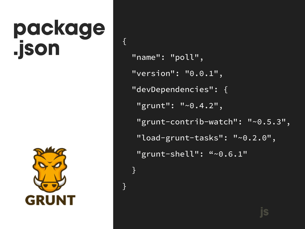 """package .json { """"name"""": """"poll"""", """"version"""": """"0...."""