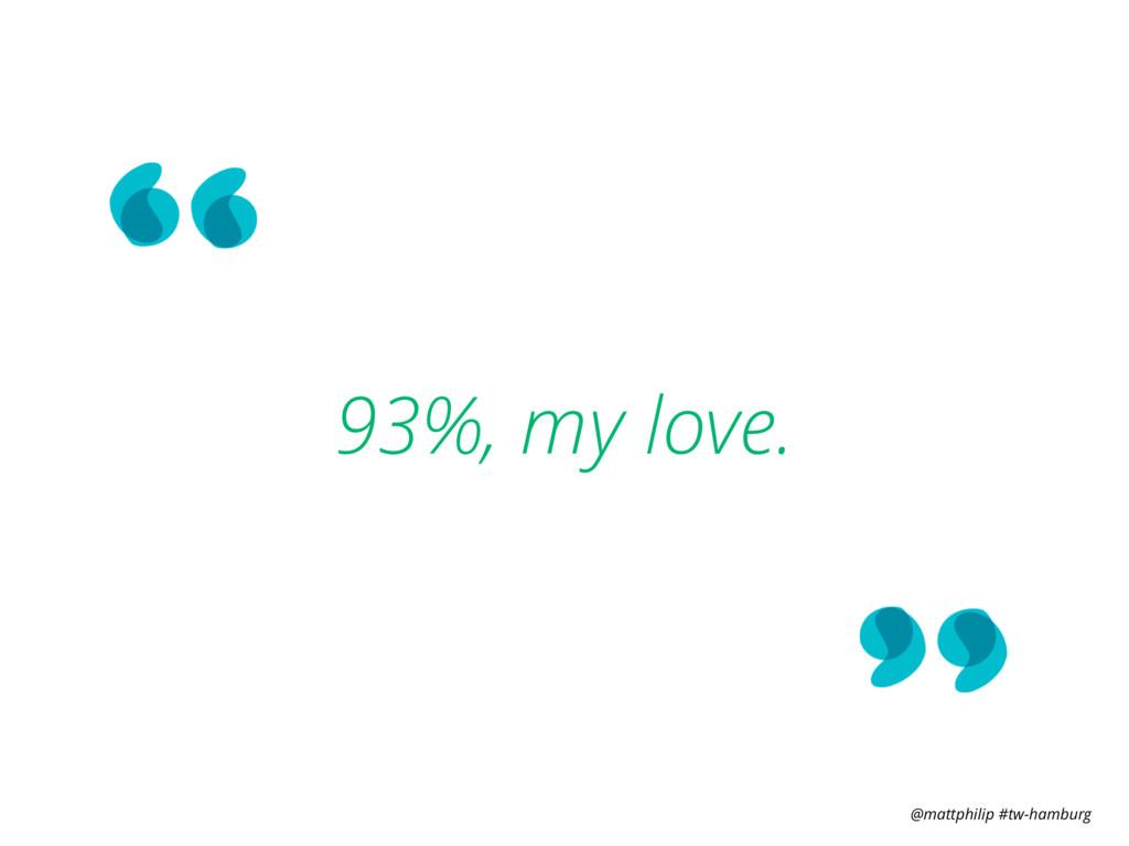 @mattphilip #tw-hamburg 93%, my love.