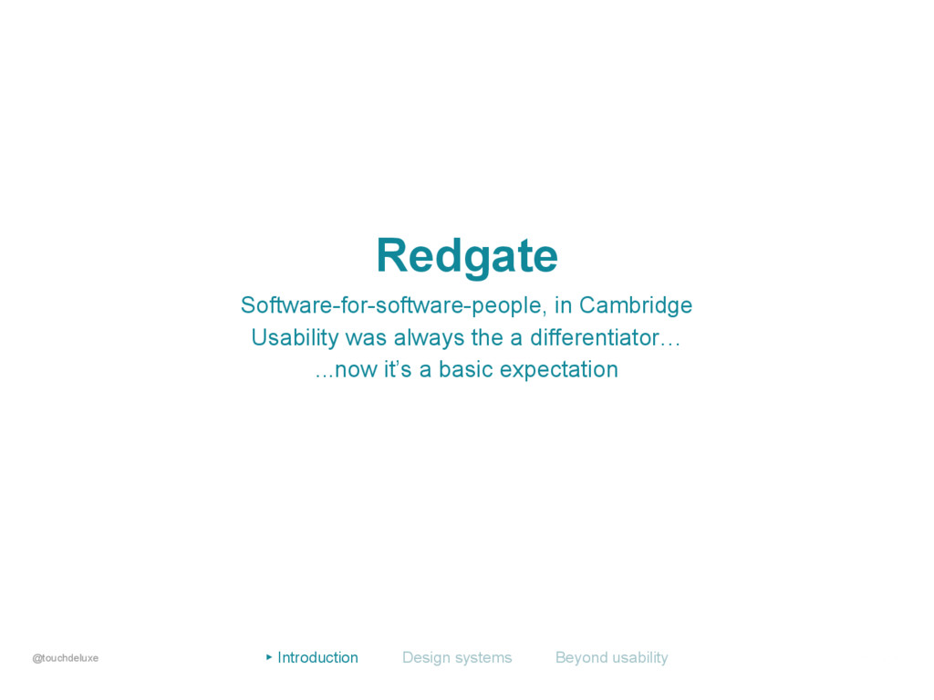 Redgate Software-for-software-people, in Cambri...