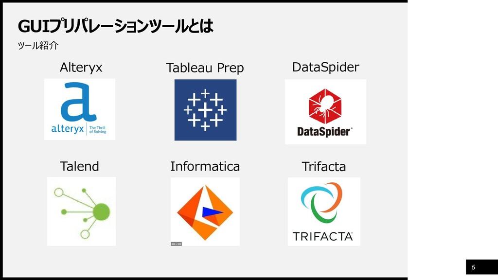 GUIプリパレーションツールとは ツール紹介 6 Alteryx Tableau Prep D...