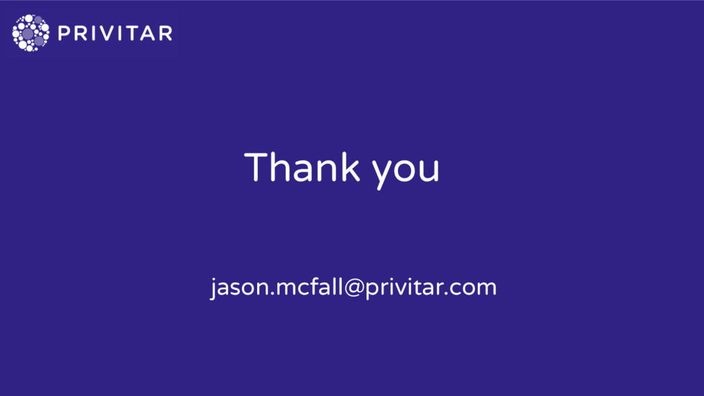 Thank you jason.mcfall@privitar.com