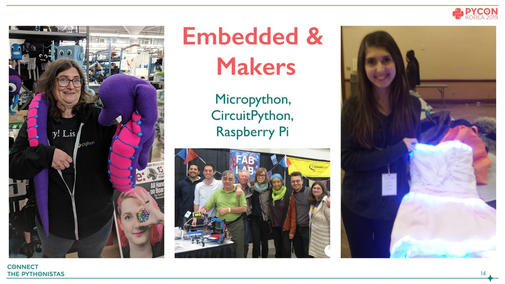 Embedded & Makers Micropython, CircuitPyth...