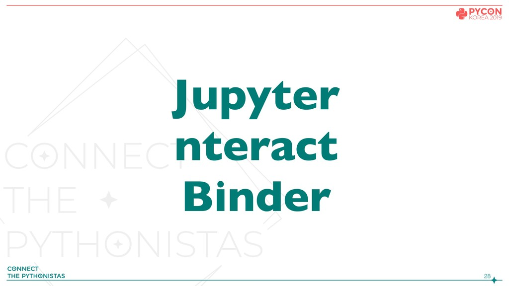 !28 Jupyter nteract Binder
