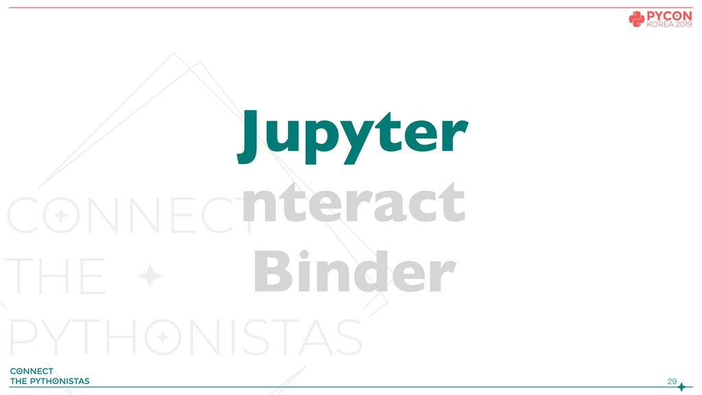 !29 Jupyter nteract Binder