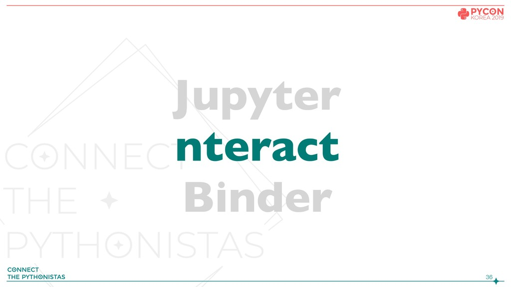 !36 Jupyter nteract Binder
