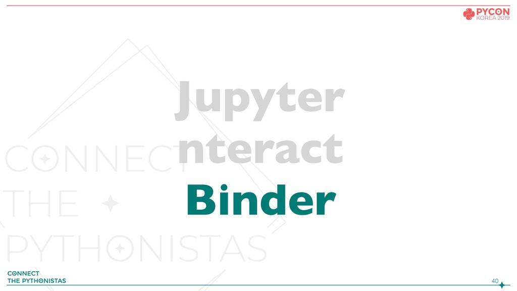 !40 Jupyter nteract Binder