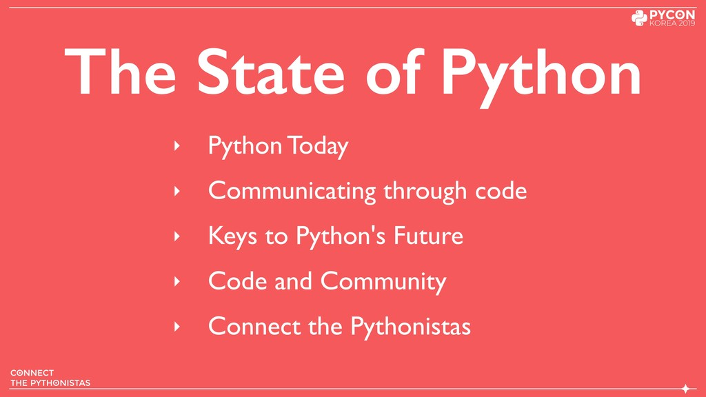 The State of Python ‣ Python Today ‣ Communicat...