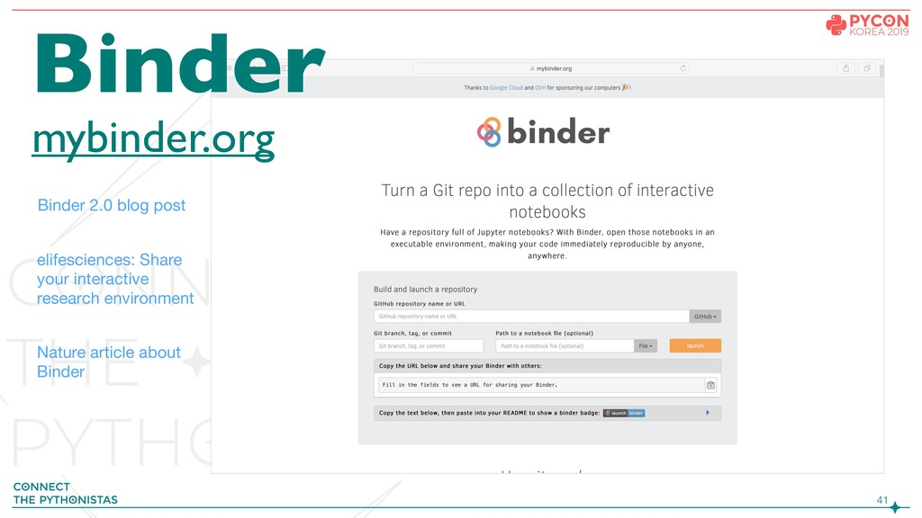 !41 Binder mybinder.org Binder 2.0 blog post el...