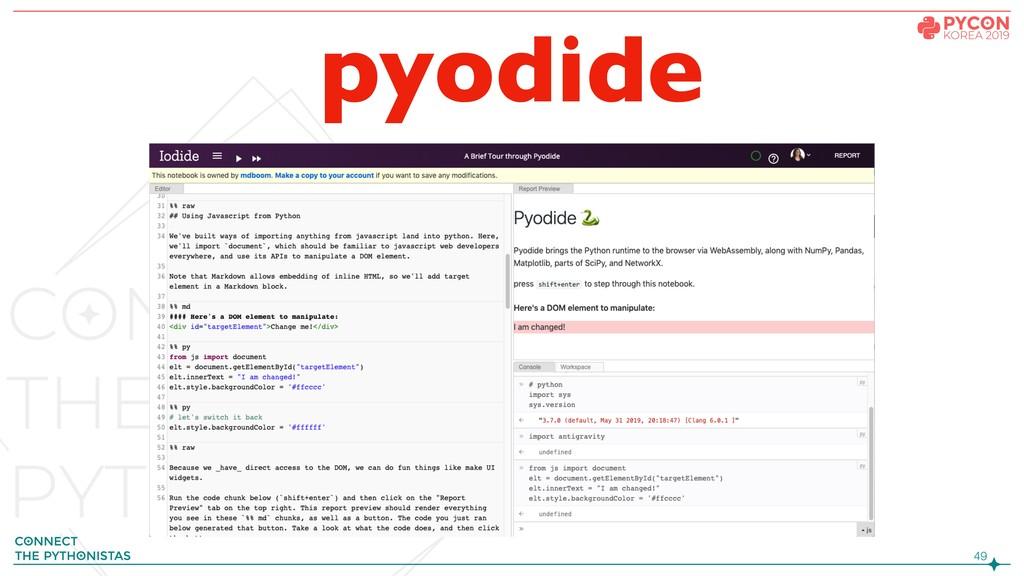 !49 pyodide
