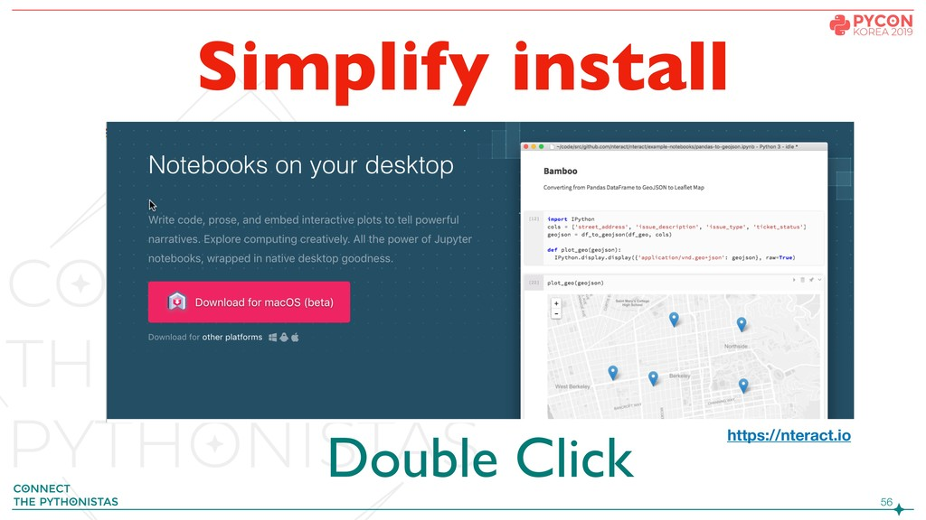 !56 Simplify install https://nteract.io Double ...