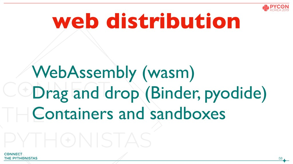 !58 web distribution WebAssembly (wasm) Drag an...