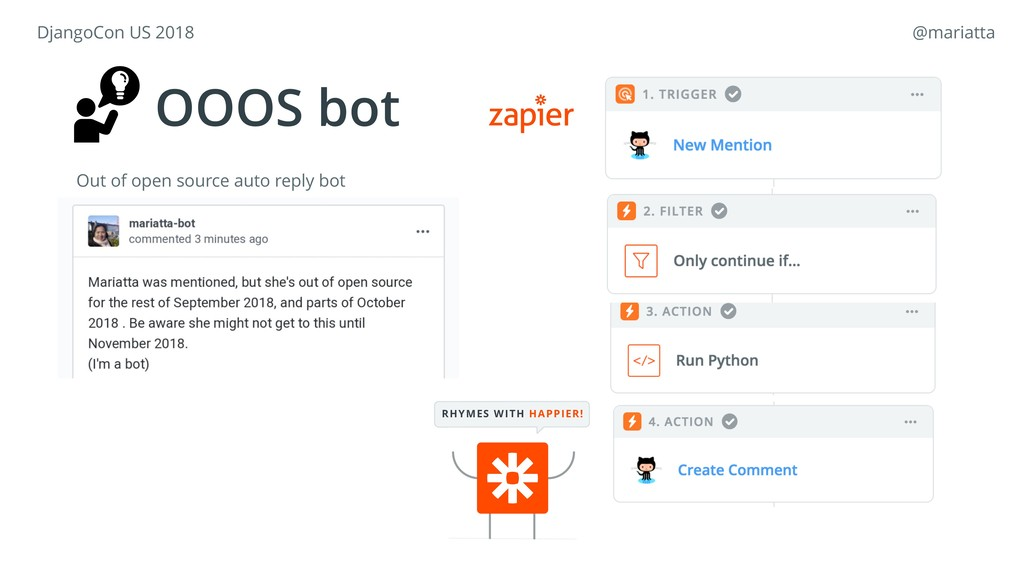 RHYMES WITH HAPPIER! OOOS bot Out of open sourc...