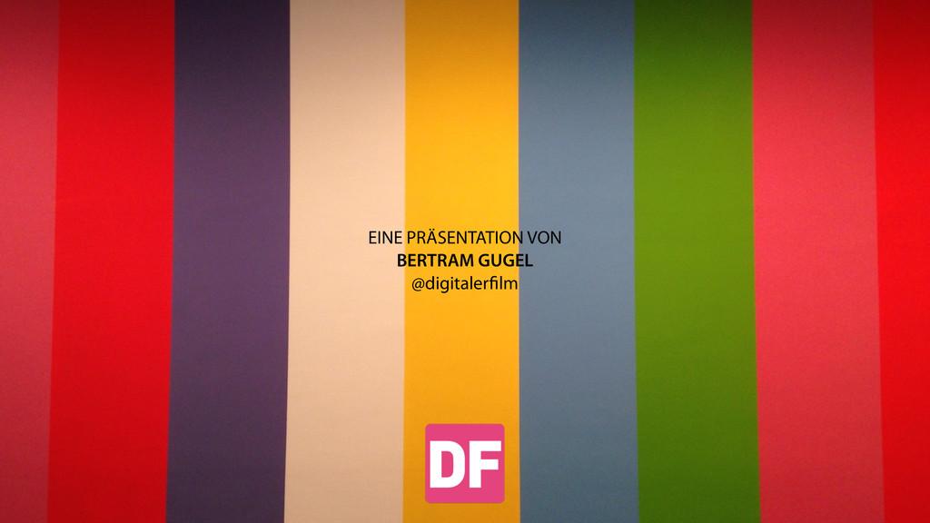 EINE PRÄSENTATION VON  BERTRAM GUGEL @digital...