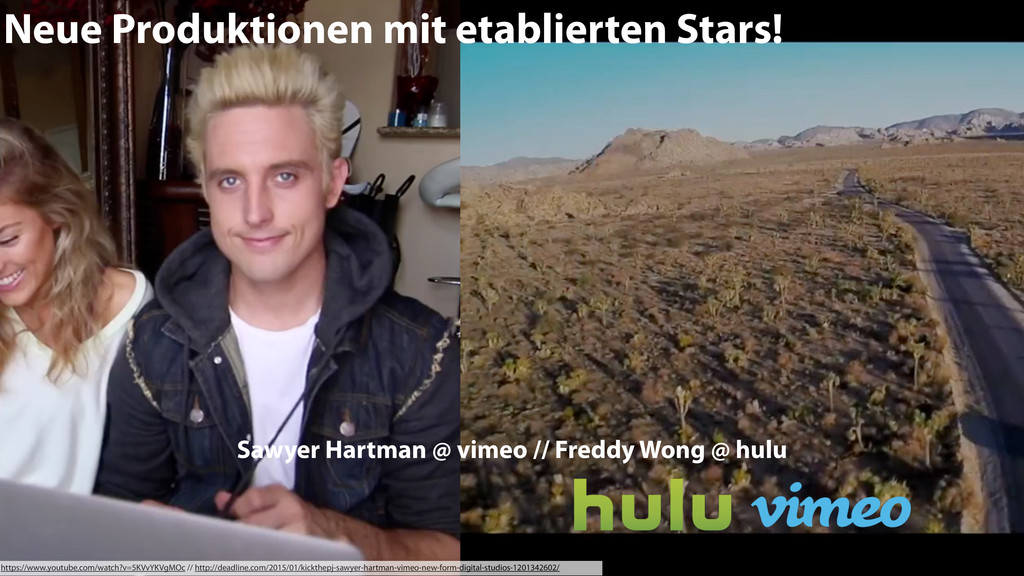 Neue Produktionen mit etablierten Stars! https:...