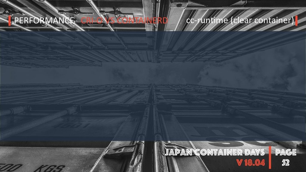 PAGE Japan Container DAYS v 18.04 52 PERFORMANC...